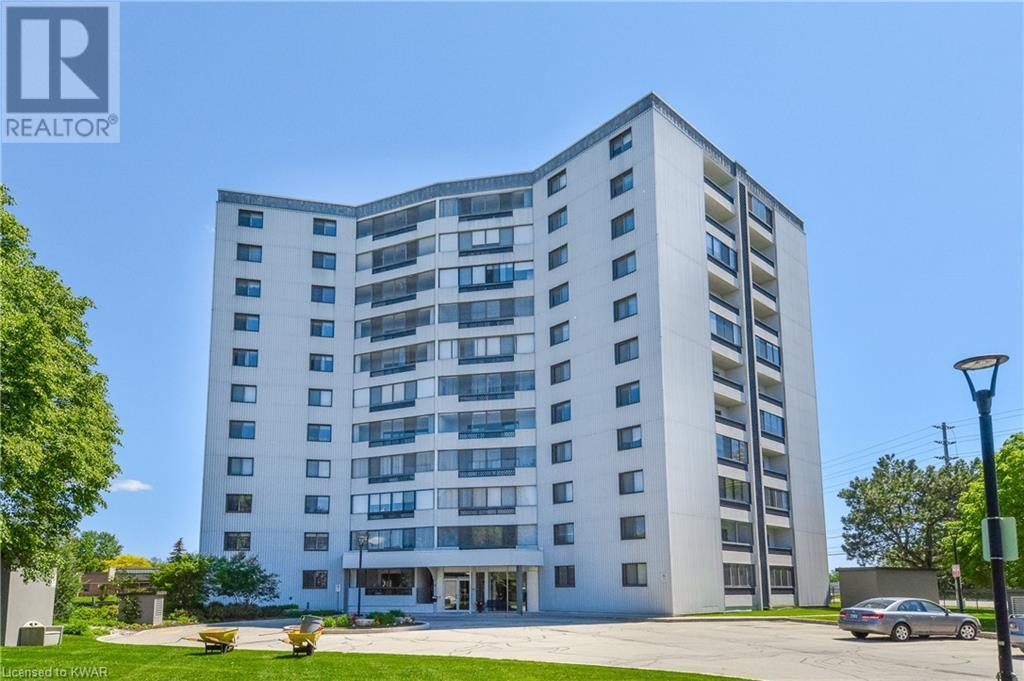 Real Estate Listing   250 GLENRIDGE Drive Unit# 1101 Waterloo