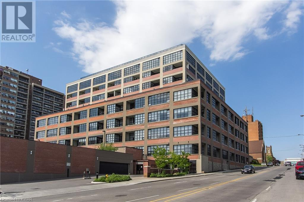 Real Estate Listing   112 BENTON Street Unit# 410 Kitchener